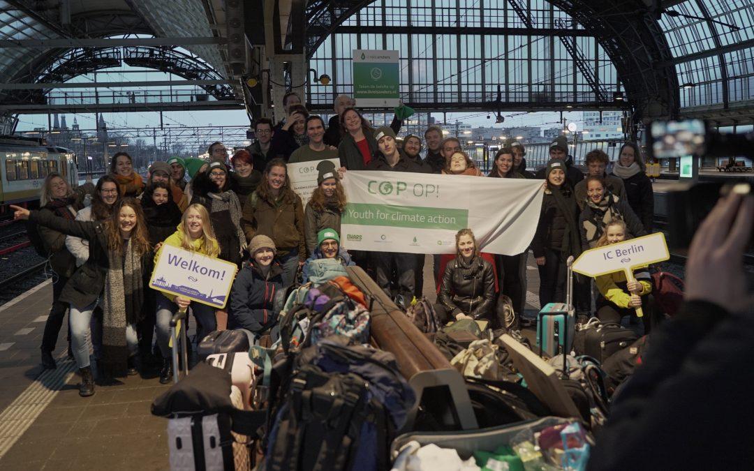 Jonge Klimaatbeweging naar COP24