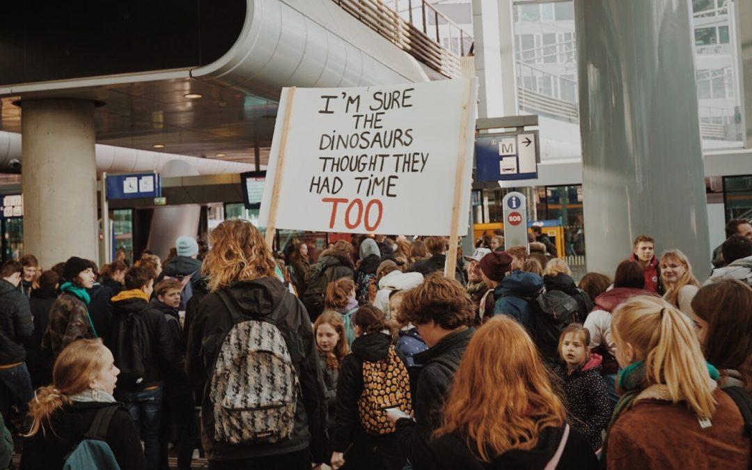 Persbericht: Jongeren lopen mee met de klimaatmars voor een betere toekomst
