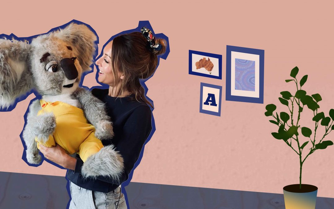 Liselot (34) en Koos de Koala inspireren kinderen om goed voor de aarde te zorgen