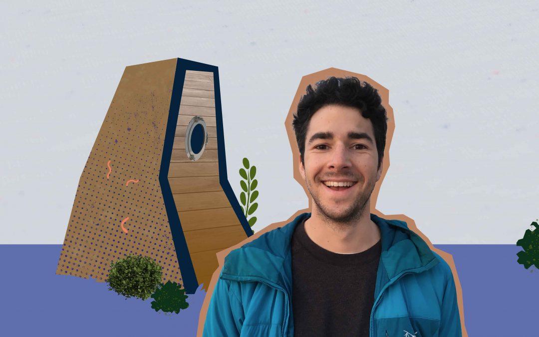 Timo (23) wil een wormenhotel voor studenten op de campus