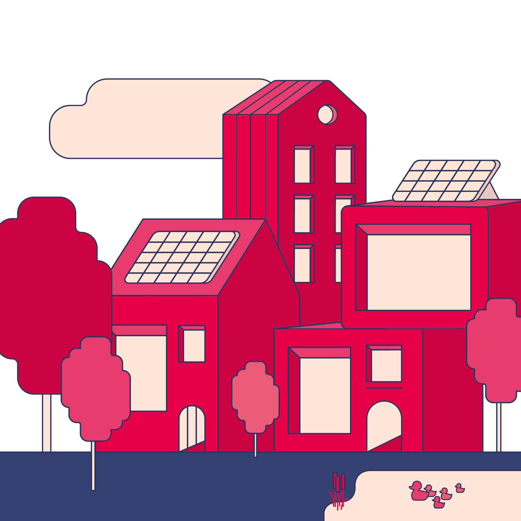 Transitieplan Wonen – Van Grijs en Groen naar Groen en Blauw