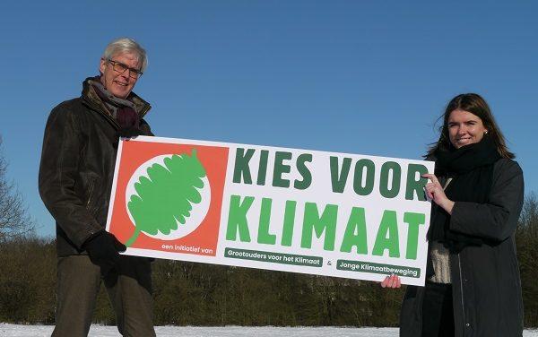 De Jonge Klimaatbeweging en Grootouders voor het Klimaat verenigen in campagne Kies voor Klimaat